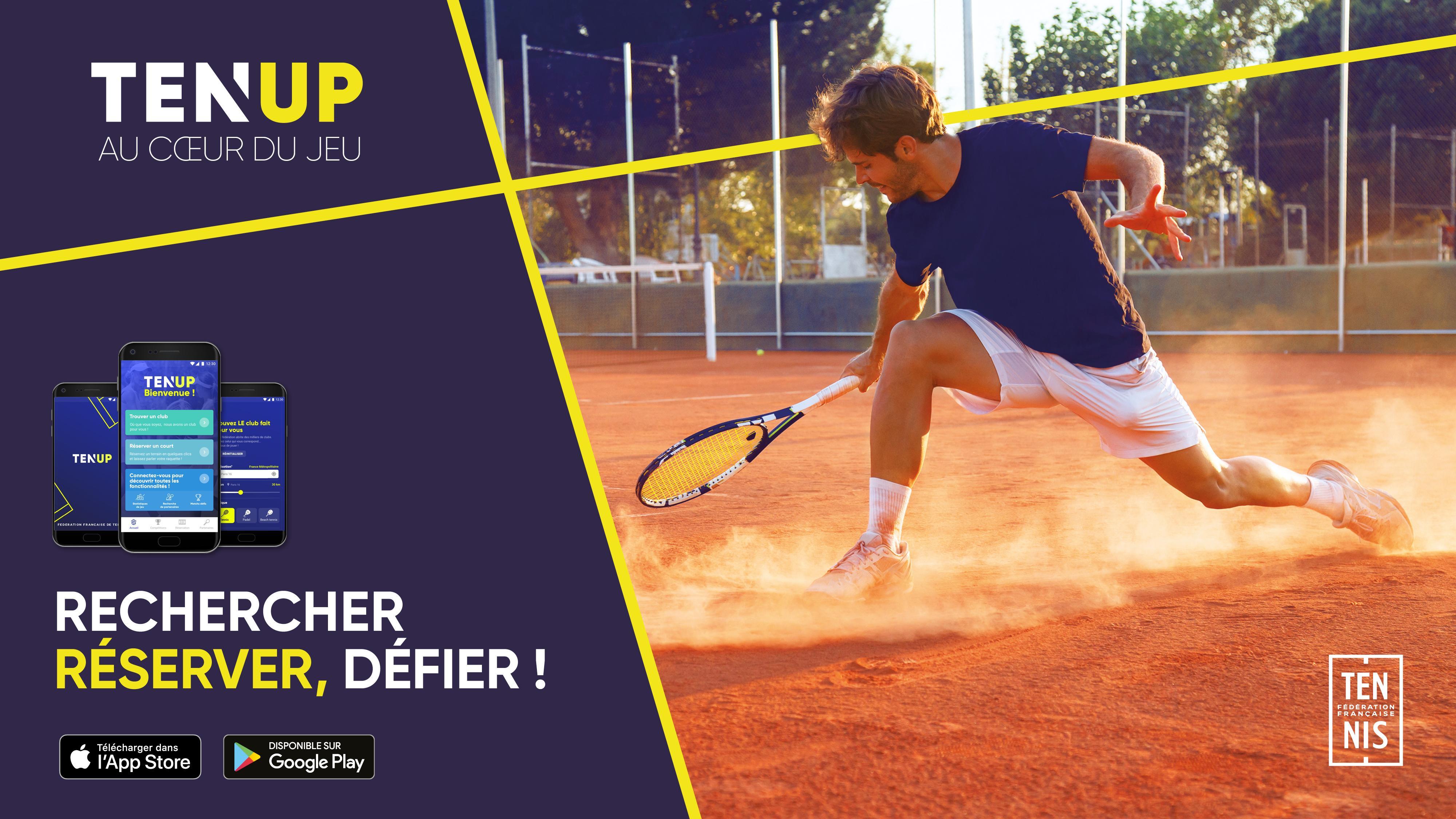 best loved 71a72 ae8b8 Ten Up   Fédération française de tennis