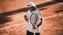 Arthur Cazaux à Roland-Garros 2021