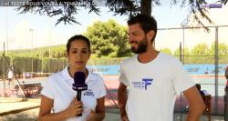 """Le reportage de Charlotte Gabas """"inside"""" à la Tennispro Cup"""