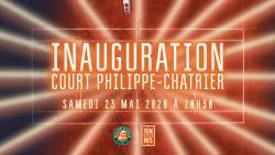 Réservez votre 23 mai pour l'inauguration du court Philippe-Chatrier !